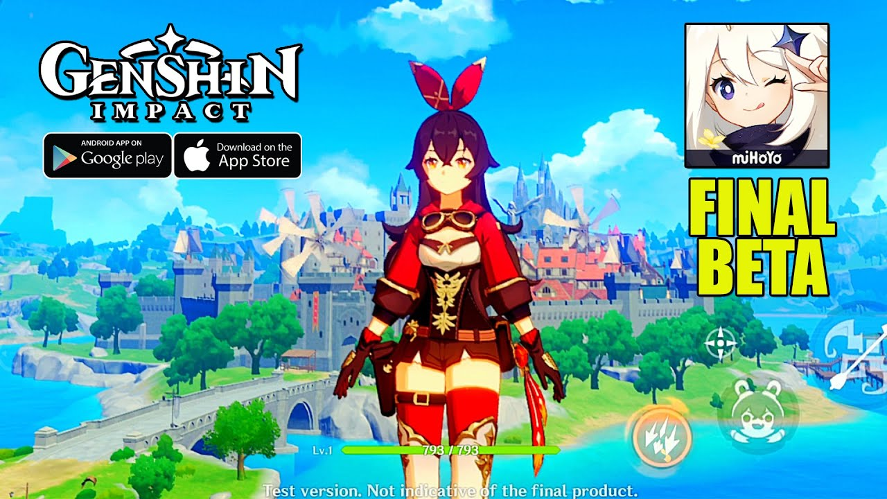 Genshin Impact Mihoyo Final Beta Gameplay Android Ios Youtube