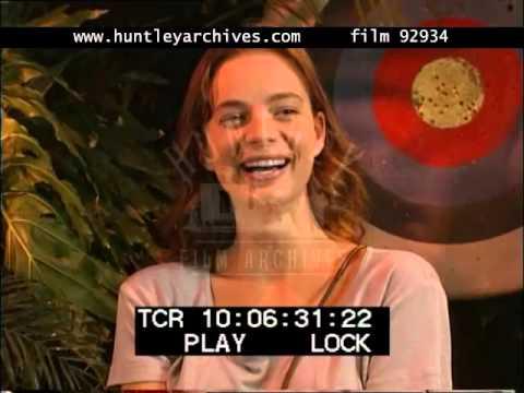 Gabrielle Anwar Interview on Innocent Lies, 1990's - Film 92934