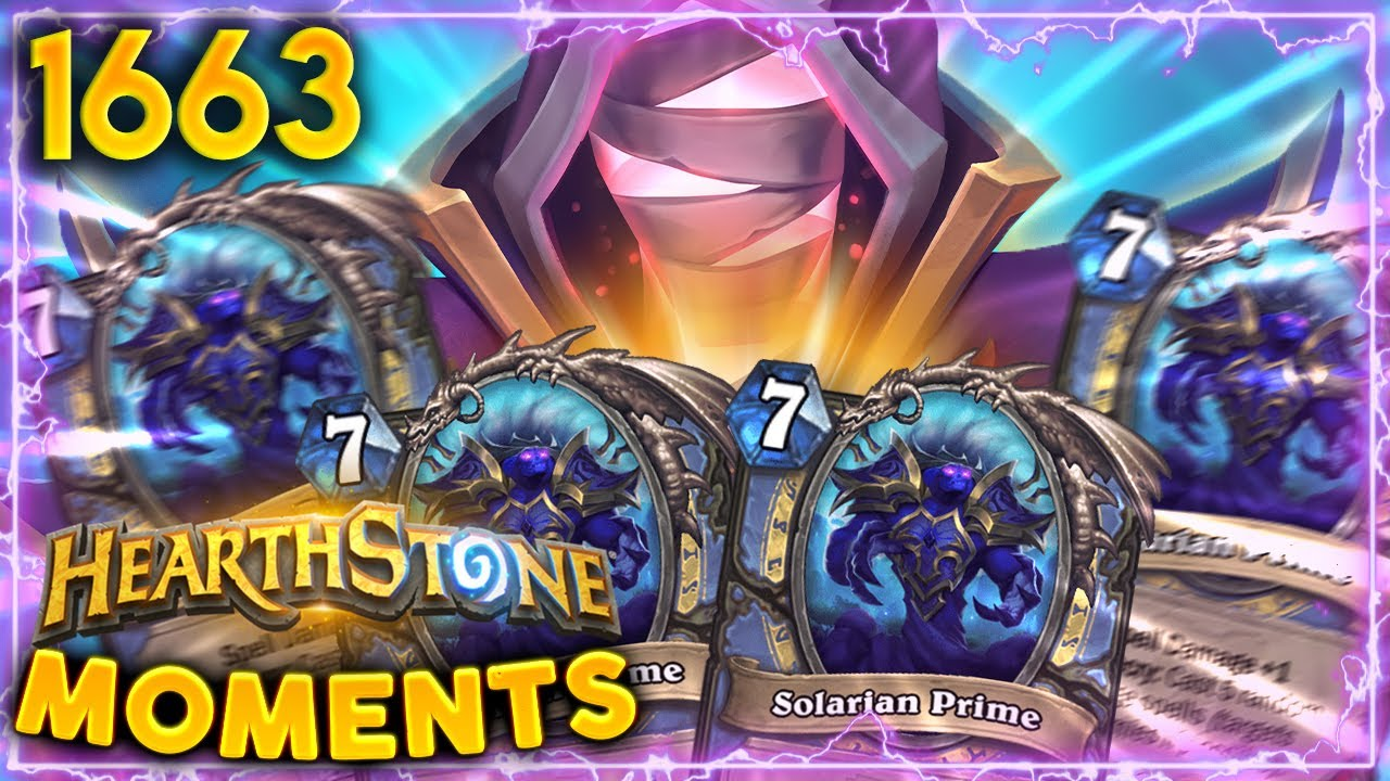 4 Solarians Might Be TOO MUCH? NOPE! | Hearthstone Daily Moments Ep.1663