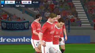 Manchester city vs wow pt Dream League Soccer 2018 Android Game Play #52