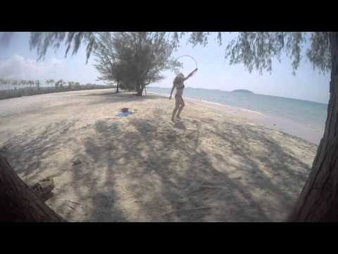 Hooping Around the World - Otres Beach, Cambodia