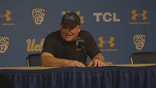 UCLA Football Coach Kelly Postgame - 11.17.18