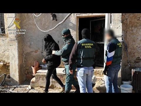 Doce detenidos en el Altiplano por producción y distribución de drogas