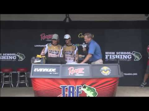 High School Fishing World Finals Lake Dardanelle 2014 Final Day