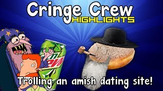 TROLLING AN AMISH DATING SITE! - Cringe Crew Highlights