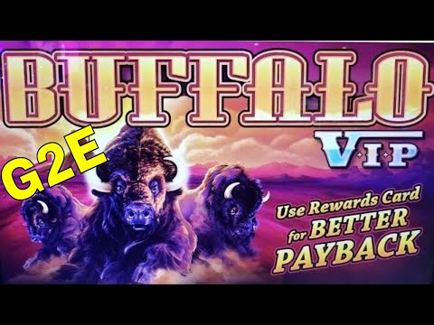 ★G2E 2018★ NEW Buffalo VIP Slot Machine PREVIEW w/NG SLOT |
