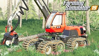 Wycinka lasu - Farming Simulator 19 | #29