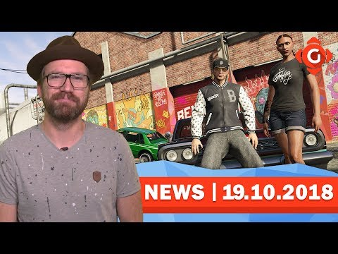 GTA V: Polizei durchsucht Spieler-Wohnungen! Days Gone: Schon wieder verschoben! | GW-NEWS