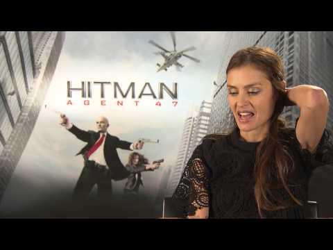 HITMAN: AGENT 47 Interview Hannah Ware