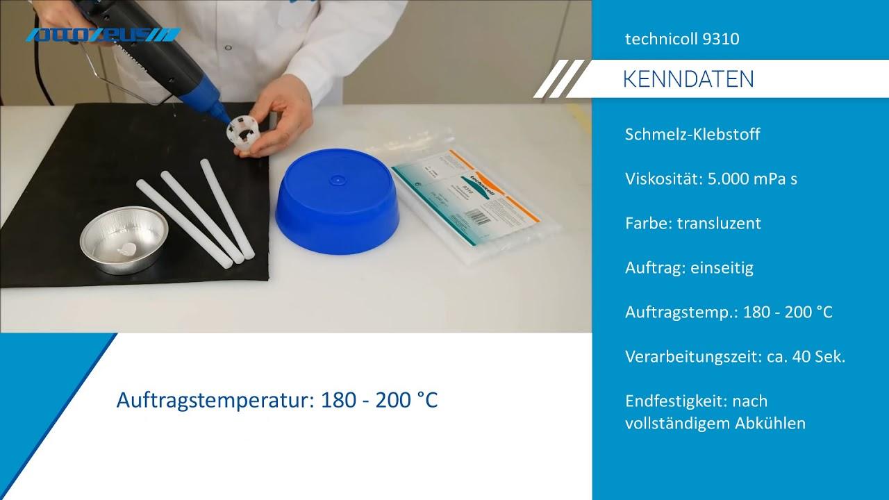 Pp Mit Pe Kleben Mit Technicoll 9310 Youtube