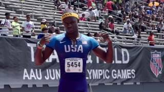 Tyrese Cooper Has Big Goals For The AAU Junior Olympic Games