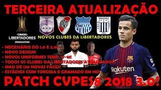 COMO BAIXAR INSTALAR PATCH CVPES8 CONMEBOL 3.0! PES 2008!