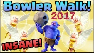 Clash of clans new 2017 Bowler attack strategy for th10|Best attack strategy of 2017