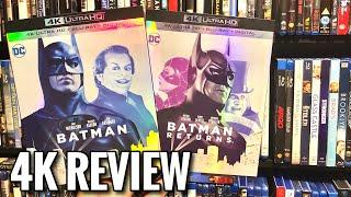 Batman / Batman Returns | 4K UltraHD Blu-ray Review