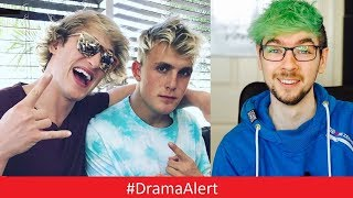 Jacksepticeye ROAST Jake Paul & Logan Paul! #DramaAlert (Cash me Outside) FaZe Banks - Ricegum!