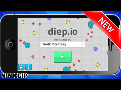 OFFICIAL DIEPIO APP GAMEPLAY / Diep.io IOS & ANDROID / Diep.io iPhone/Ipad Release