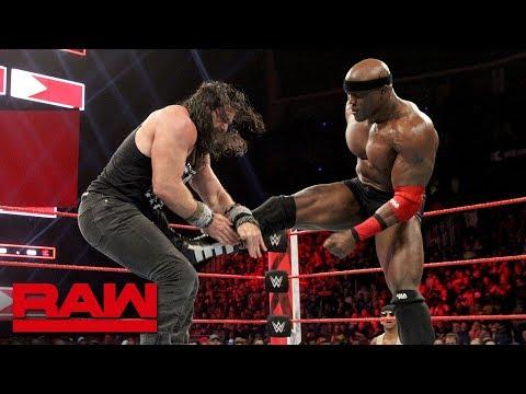 Elias vs. Bobby Lashley - Winner Joins the Raw Men's Survivor Series Team: Raw, Nov. 12, 2018