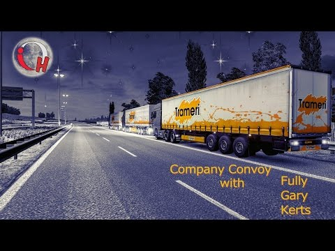 Euro Truck Simulator 2 | Original Haulage Company Convoy | Plymouth - Luxembourg