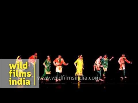 Dogri dance from Jammu & Kashmir
