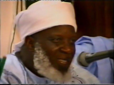 cheikh mouhamadou toure (1eme) message de Tijaniyyah