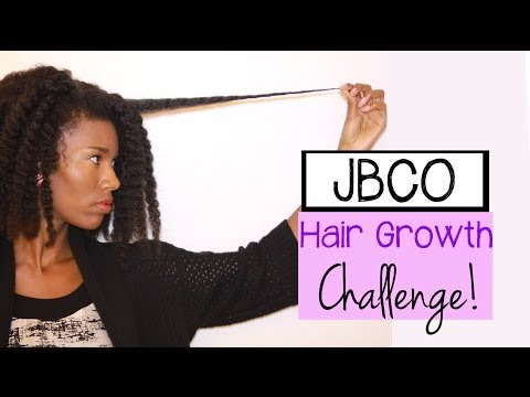 Hair Growth Challenge With JBCO!! -KashTV