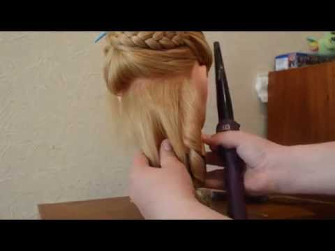 Причёска на последний звонок