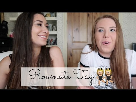 ROOMMATE TAG: What it's like living with your best friend | Rach&Em