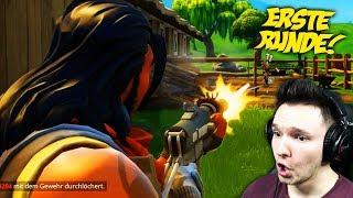 DAS ERSTE MAL IN DIE SCHLACHT ZIEHEN !! | Fortnite Battle Royale