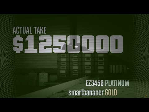 GTA5 - How to get 100% cash in pacific standard robbery - suicide trick & shortcut route
