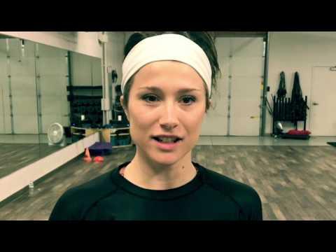 Meet Ashley! Our rockstar yoga instructor!