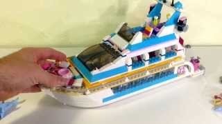 Lego Review Of Set #41015 Dolphin Cruiser