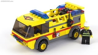 Lego City Airport Fire Truck From 2006! Set 7891