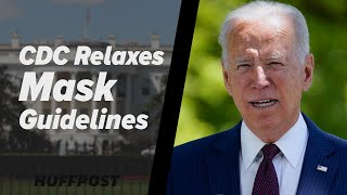 Biden Welcomes Relaxed Mask Guidelines