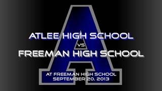 Atlee at Freeman - Football Highlights - 9/20/13