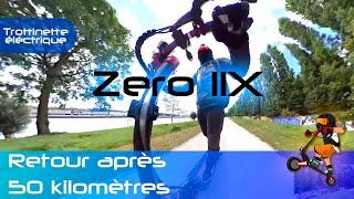 Test de la Zero 11X, retours sur le monstre après 50km