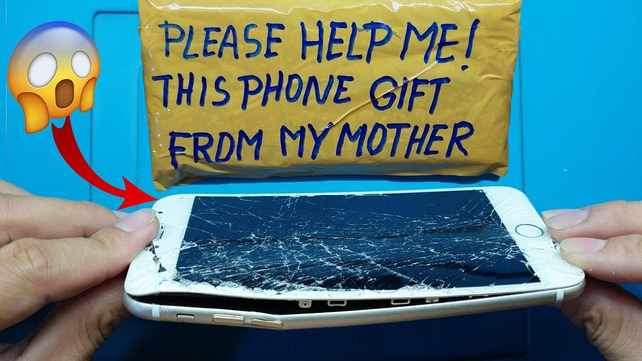 Restoration destroyed phone | Restore iPhone 6+ | Rebuild broken phone