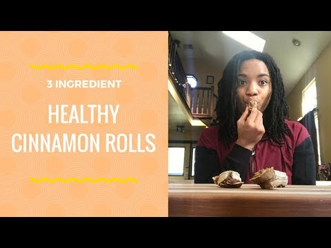3 Ingredient Vegan Cinnamon Rolls