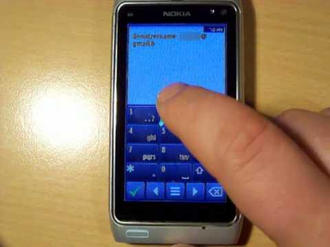 Nokia N8 Google Sync mit Mail for Exchange - Mail, Kontakte, Aufgaben