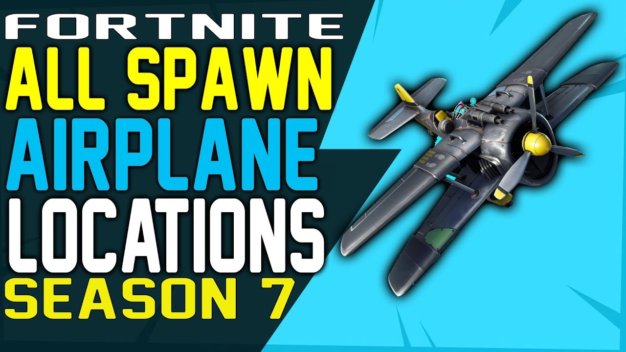 Fortnite All Airplane Spawn Locations X 4 Stormwing Plane