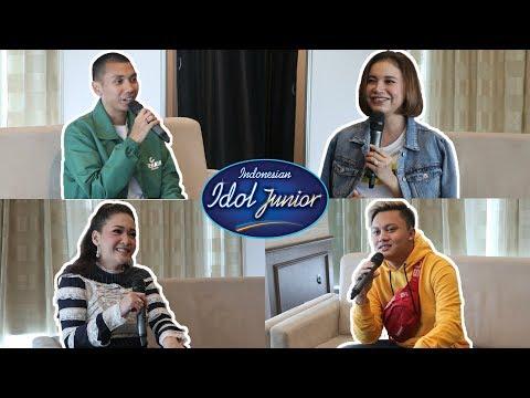 Cerita seru Bunda Maia, Rossa, Rayi & Rizky Febian - Indonesian Idol Junior 2018