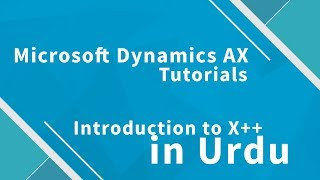 Microsoft Dynamics AX 2012 X++ Introduction