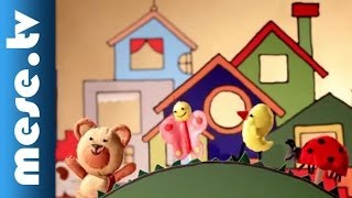 Kiskalász Zenekar: Hepehupa (báb animáció, dal) | MESE TV
