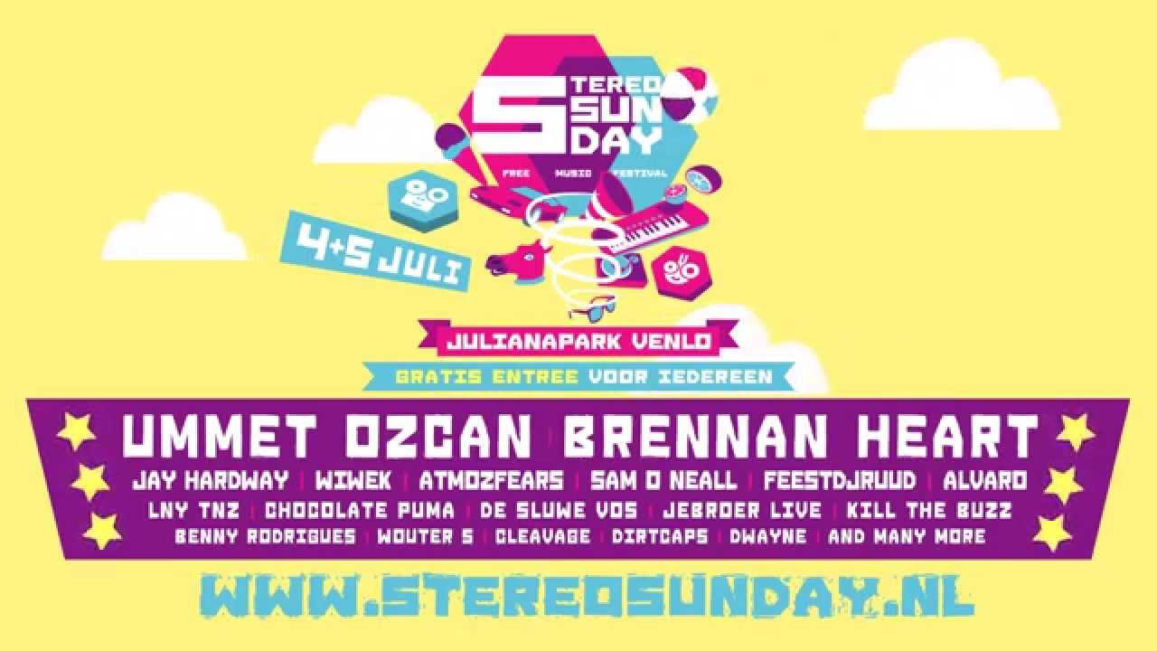 Stereo sunday 2015 line up youtube for Jardin stereo 2015 line up