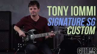 Tony Iommi Signature SG Custom -Epiphone Limited Edition