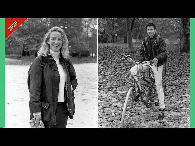 Ritratti a sconosciuti in parco Sempione con Giacomo De Checchi - Nikon F2
