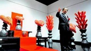 道立近代美術館で阿部典英のすべて展(2012/04/07)北海道新聞