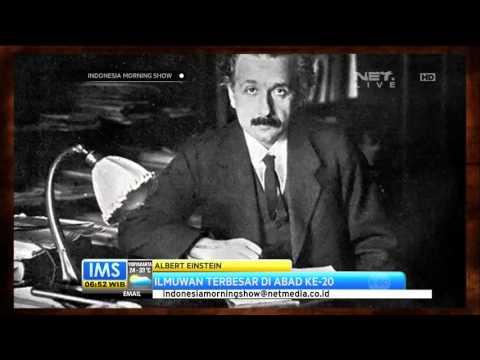 Today's History 18 April 1955 Albert Einstein Meninggal