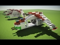 Minecraft Republic Gunship LAAT Star Wars Tutorial