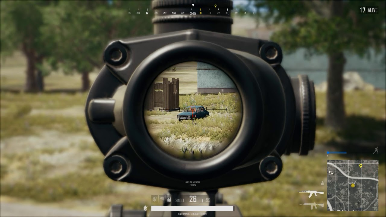 4x Scope On AK May Be My Favorite Combo.