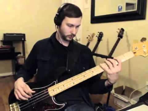 Stealers Wheel - Stuck In The Middle With You - Bass Cover Play Along